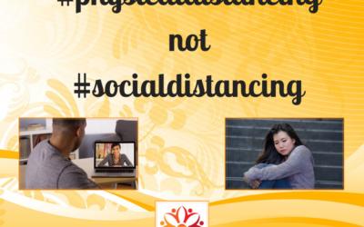 Reframing #SocialDistancing…Because Language Matters